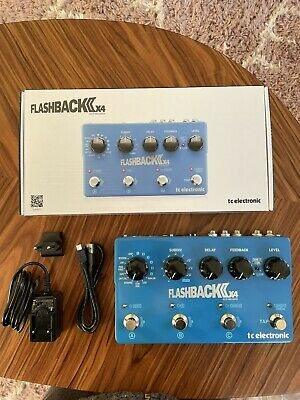 TC Electronic Flashback 2 X4 Effects Pedal • 145£