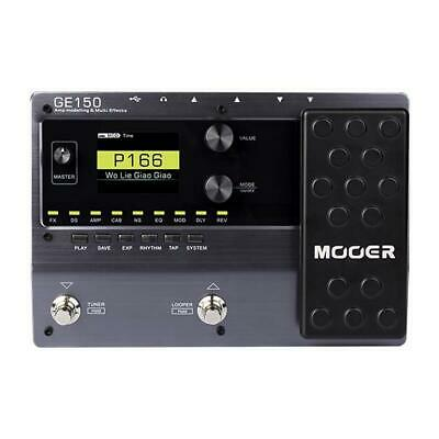 Mooer GE150 Guitar Multi Effects.55 Amp Models + 151 Different Effects + Drums • 145£