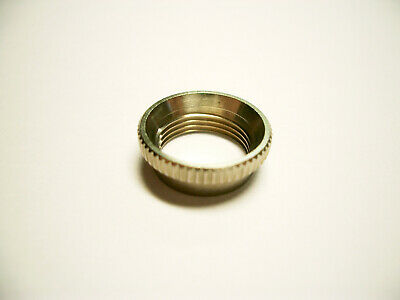 Allparts Deep Toggle Nut Nickel, For Switchcraft • 11.27£