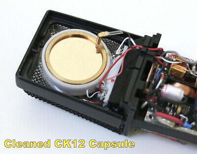 AKG C414 EB ULS TLII XLII XLS Microphone Capsule Cleaning Service  Noise Removal • 55£