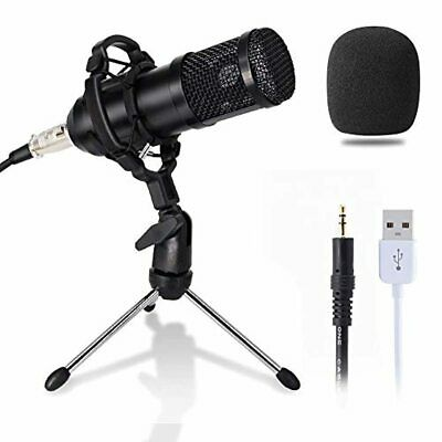 Computer Microphone, Gaming Mic With Stand, USB PC Microphone For Video Recordin • 52.85£