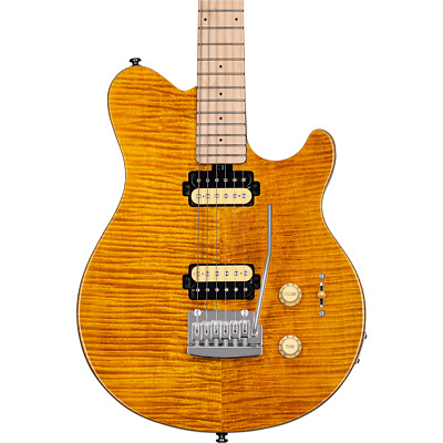 Sterling by Music Man SUB AXIS Electric Guitar - TRANS GOLD - AX3FMTGOM1