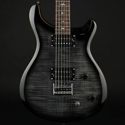PRS SE 277 Baritone Electric Guitar In Charcoal Burst With Gig Bag #C55857 • 825£