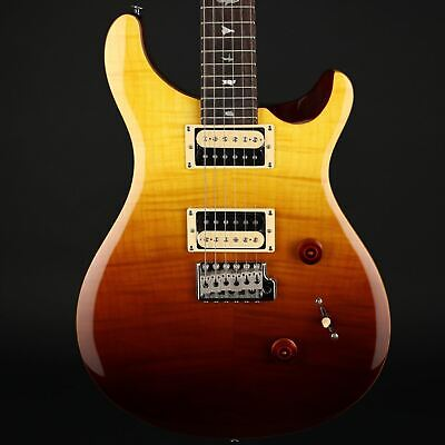 PRS SE Custom 24 Limited Edition Electric Guitar in Amber Fade w/Gig Bag #C06144