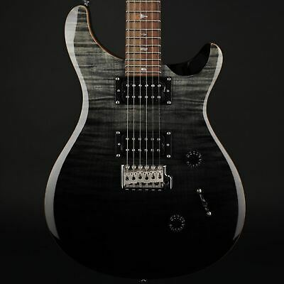 PRS SE Custom 24 Limited Edition Electric Guitar in Charcoal Fade w/Bag #C05579