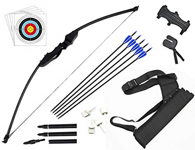 Dostyle Takedown Recurve Bow And Arrow Set Outdoor Archery Hunting Shooting With • 76.88£