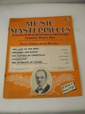 1925 Music Masterpieces Part 8: Incl. Tannhauser, The Marriage of Figaro