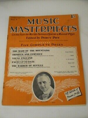 1925 Music Masterpieces Part 6: Incl. Orpheus & Eurydice, The Barber of Seville