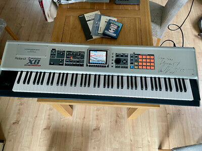 Roland FantomX8 Workstation Synthesiser ...AMAZING Machine - Signed By Heaven 17 • 999£