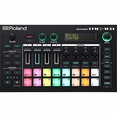 Roland MC-101 GROOVEBOX AIRA Compact Music Production Workstation w/Tracking NEW