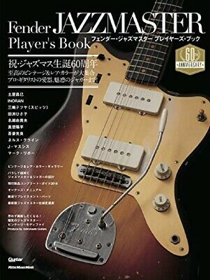 Fender Jazzmaster Player's Book 60th Anniversary Official must have for fans JPN