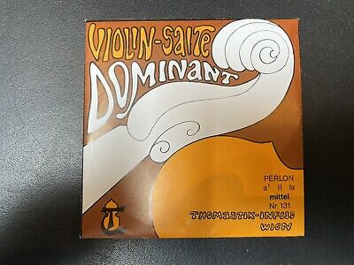 New Thomastik Dominant A String For Violin Fullsize With Ball End
