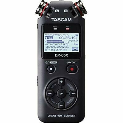 TASCAM Stereo Linear PCM Recorder with USB Audio Interface DR-05X w/Tracking NEW