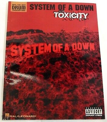 System Of A Down - Toxicity Drum Notation