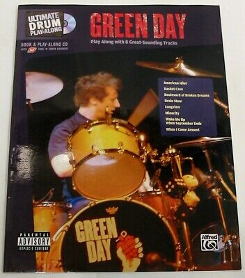 Green Day - Drum Notation & Playalong  **New Old Stock**