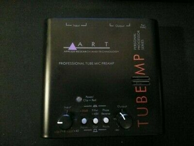 Art Tube MP Professional Tube Mic Preamp and Behringer XM8500 Microphone