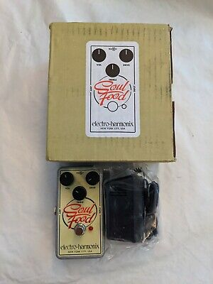 Electro Harmonix Soul Food Electric Guitar Pedal Distortion NEW