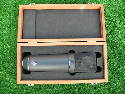 NEUMANN U87Ai Microphone (boxed) with Shockmount Cradle and literature.