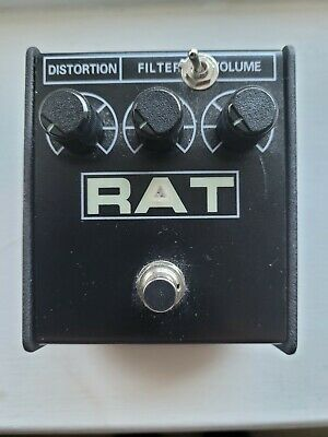 Rat Distortion Pedal with 3 way tone modification