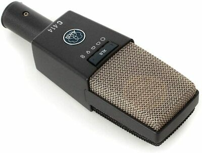 AKG C414XLS Reference Multipattern Condenser Microphone From JAPAN