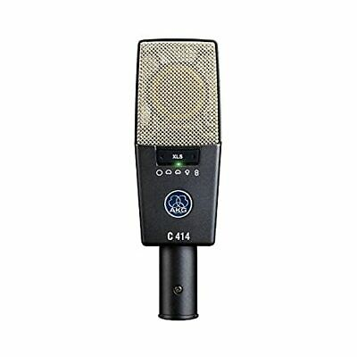 AKG C414 XLS-Y4 Condenser Microphone 9 Pattern Directional Switching