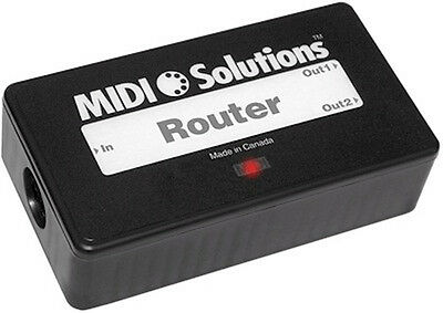 Midi Solutions Router Route, Filter, And Rechannelize Selected MIDI Messages • 101.98£