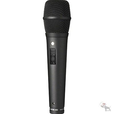 Rode M2 Live Condenser Vocal Super Cardioid Vocal Handheld Mic Microphone • 128.05£