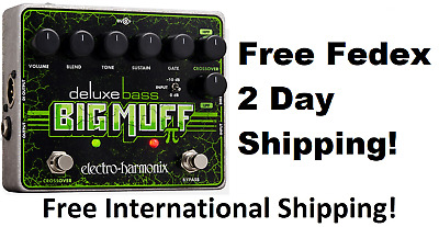 New Electro-Harmonix Deluxe Bass Big Muff Pi Distortion Guitar Effect Pedal • 93.86£