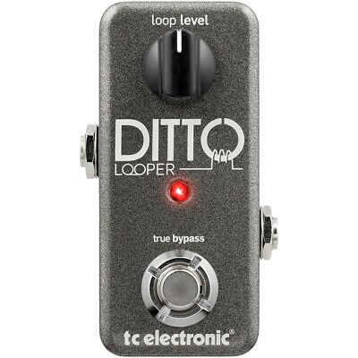 TC Electronic Ditto Looper Guitar Effects True Bypass Analog-Dry-Through Pedal • 136.69£