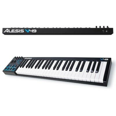 ALESIS V49 Tastiera Controller Keyboard A 49 Tasti+ableton Live Lite+xpand!2 NEW • 111.29£