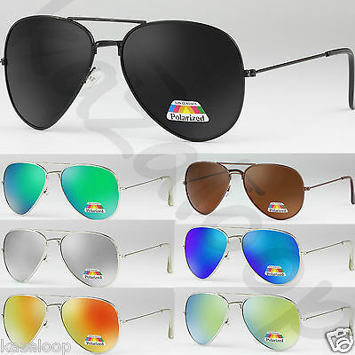Pilot Tear Drop Shape POLARIZED Sunglasses Mens Womens Vintage Retro UV400 • 5.95£