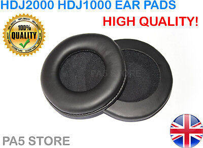 Foam Ear Pads For Pioneer HDJ2000 HDJ1000 HDJ 2000 - High Quality - UK Seller • 6.49£