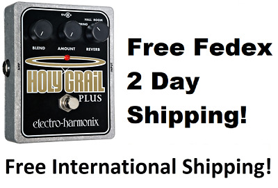 New Electro-Harmonix EHX Holy Grail Plus +  Variable Reverb Guitar Effects Pedal • 121.19£