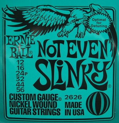 Ernie Ball Not Even Slinky 12-56 2626 Electric Guitar Strings • 7.71£