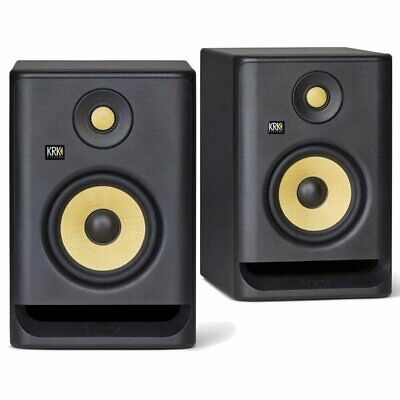 PAIR KRK Rokit 5 G4 Active Studio Monitors RP5G4 RP5 Speakers Generation 4 • 284.54£