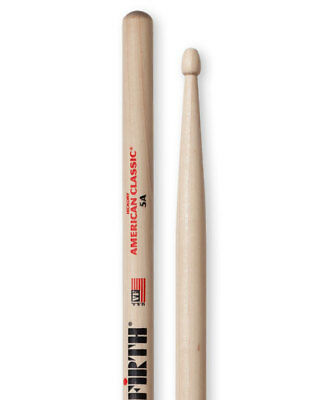 Vic Firth Hickory American Classic Drumsticks - 5A - Wood Tip • 11.99£