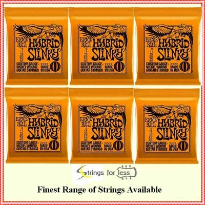 Ernie Ball 2222 Hybrid Slinky Electric Guitar Strings Gauge 9- 46  -  6-Sets • 37.56£