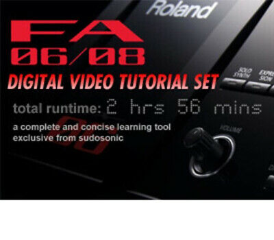 Roland FA-06 / 08 Video On USB And Downloads FA06 FA08 FA (previously On DVD) • 28.91£