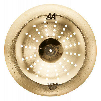 Sabian 22116CSB AA Series Holy China Chinese Effect Cymbal Brilliant Finish 21  • 231.46£