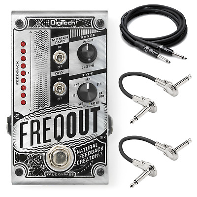 New DigiTech FreqOut Natural Feedback Creator Guitar Effects Pedal • 147.44£