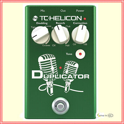 TC-Helicon Duplicator - Vocal Effects Stompbox Pedal • 176.17£