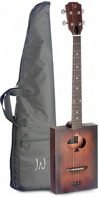 Acoustic Cigar Box Guitar 4 String With Soft Case • 124.95£