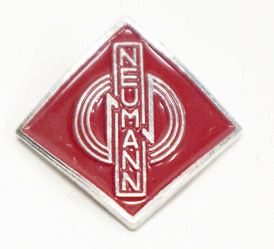 Genuine Neumann Replacement Red Badge For KMS 105 Microphone • 46.16£