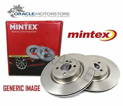 New Mintex Front Brake Discs Set Braking Discs Pair Genuine Oe Quality Mdc847 • 43.02£