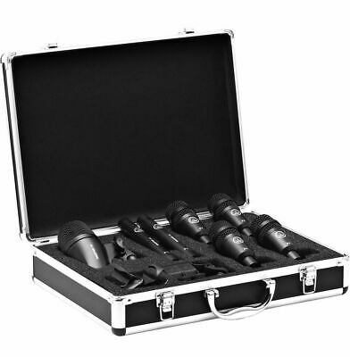 AKG Drum Set Session I High-performance Drum Microphone Set With Flight  Case • 357.03£