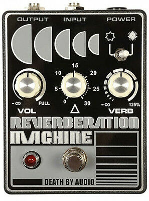 NEW Death by Audio Reverberation Machine [ NEW DBA REVERB ] Stock in Sydney!
