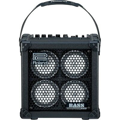 Roland MICRO CUBE BASS RX Battery-Powered Combo Amplifier Amp W/ Effects Tuner • 229.86£