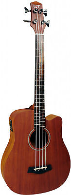25 inches Acoustic-Electric Micro Bass with Bag by Gold Tone