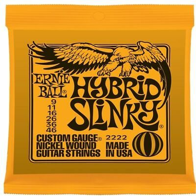 Ernie Ball Hybrid Slinky  2222   .009 - .046  Electric Guitar Strings • 8.01£