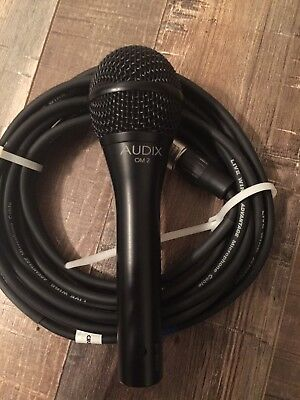Audix OM2 Dynamic Cable Professional Microphone • 69.91£